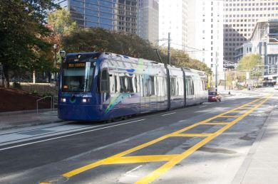 Atlanta Streetcar Near Woodruff Park atlanta.curbed.com