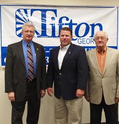 Representative Jay Roberts (center) tiftonison.com