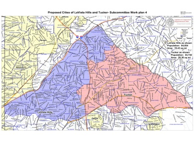 Proposed Cities of LaVista and Tucker wabe.org