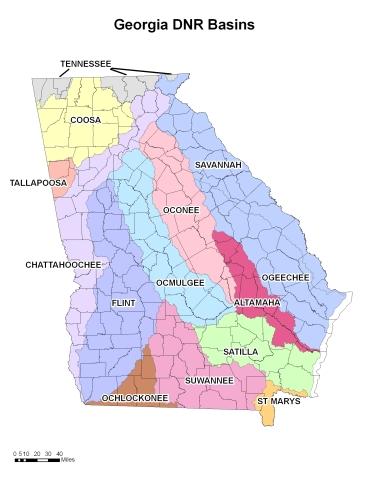 Georgia River Basins nespal.org