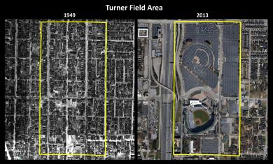 Neighborhoods Prior to Turner Field/Freeway atlantaprogressivenews.com
