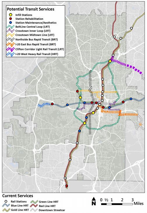 MARTA Atlanta expansion